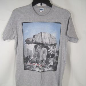 "STAR WARS ""AT-AT CROSSING TRACKS"" Men's T-Shirt"